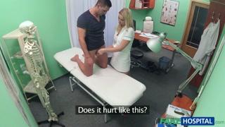 L´infermiera sa dove toccare il paziente