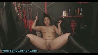 Fetish hard con la sexy  amante del bdsm