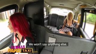 Cliente maggiorata scopa la tassista