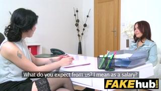 Provini lesbo con la regista donna