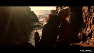 Sesso lesbo nel fiordo tra le due bellissime