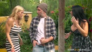 Cougar insegna a una coppia a scopare
