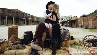 Nel vecchio west si fa gran sesso