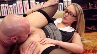 Leccata di figa orgasmica per farla godere