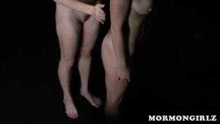 Donne vogliose mormone scoprono il sesso lesbo